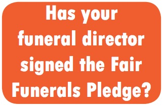 Fair funeral button